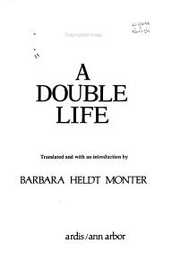 A Double Life Book
