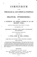 A Compendium of the Theological and Spiritual Writings of Emanuel Swedenborg PDF