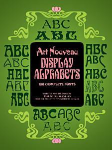 Art Nouveau Display Alphabets PDF