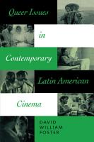 Queer Issues in Contemporary Latin American Cinema PDF
