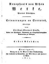 Xenophon's von Athen Werke: Band 2