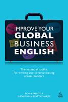 Improve Your Global Business English PDF