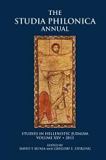 Studia Philonica Annual XXV, 2013