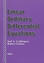 Linear Ordinary Differential Equations