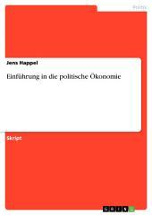 Einführung in die politische Ökonomie