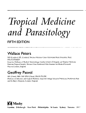 Tropical Medicine and Parasitology