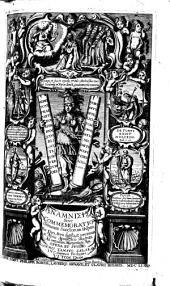 Anamnesis sive commemoratio omnivm sanctorvm Hispanorvm, pontificvm, martyrvm, confessorvm, virginvm, vidvarvm, ac sanctarvm mvliervm; qvi vel nati svnt in Hispania, et ...: cvm notis apodicticis qvibvs nomen, origo, patria, martyrivm, sedes, institutum, & acta vniusacuiusque concinnantur ... tomis VI distincta, Volume 1