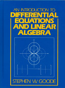 An Introduction to Differential Equations and Linear Algebra