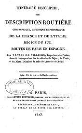 Description routière et géographique de l'empire Français divisé en quatre régions: Volume3