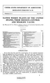 Native woody plants of the United States: their erosion-control and wildlife values