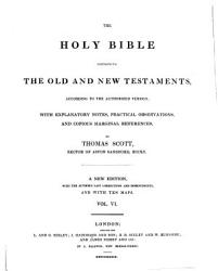 The Holy Bible Containing The Old And The New Testaments Book PDF