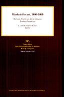 Markets for Art, 1400-1800