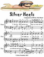 Silver Heels - Easiest Piano Sheet Music Junior Edition