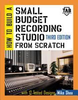 How to Build A Small Budget Recording Studio From Scratch PDF