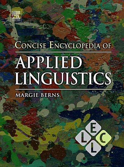 Concise Encyclopedia of Applied Linguistics PDF