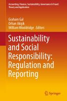 Sustainability and Social Responsibility  Regulation and Reporting PDF