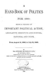 A Handbook of Politics