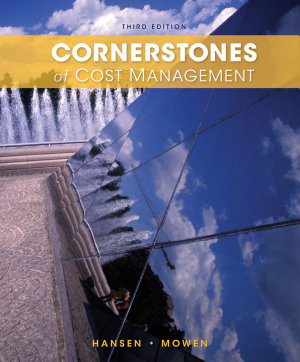 Cornerstones of Cost Management PDF