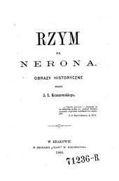 Rzym za Nerona: obrazy historyczne
