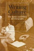 Writing Culture PDF