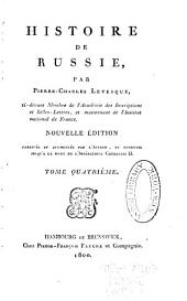 Histoire de Russie: Volume4