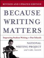 Because Writing Matters PDF