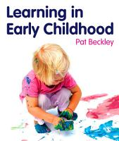 Learning in Early Childhood PDF