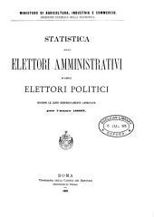 Statistica elettorale politica