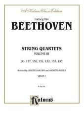 String Quartets, Volume III, Op. 127, 130, 131,132, 133, 135: String Quartet