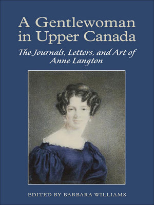 A Gentlewoman in Upper Canada PDF