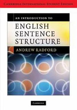 An Introduction to English Sentence Structure International Student Edition PDF