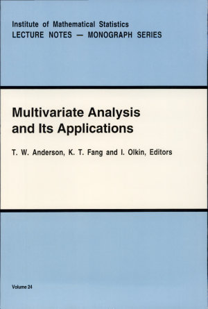 Multivariate Analysis and Its Applications PDF