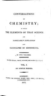 Conversations on chemistry [by J. Marcet].