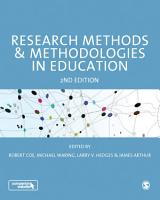 Research Methods and Methodologies in Education PDF
