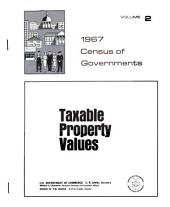 1967 Census of Governments: Taxable property values