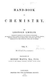 Hand-book of Chemistry: Volume 5