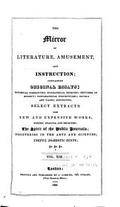 The Mirror of Literature, Amusement, and Instruction: Volume 13