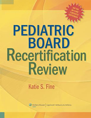 Pediatric Board Recertification Review PDF