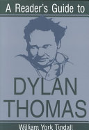 A Reader s Guide to Dylan Thomas PDF