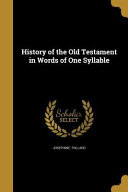 HIST OF THE OT IN WORDS OF 1 S PDF