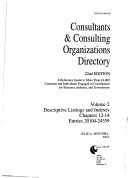 Consultants   Consulting Organizations Directory PDF
