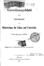 Verordnungsblatt