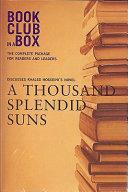 Bookclub in a Box Discusses Khaled Hosseini s Novel a Thousand Splendid Suns