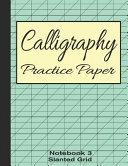 Calligraphy Practice Paper Notebook 3