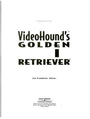 VideoHound s Golden Movie Retriever