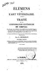 Traité de la conformation extérieure du cheval ... Par Cl. Bourgelat