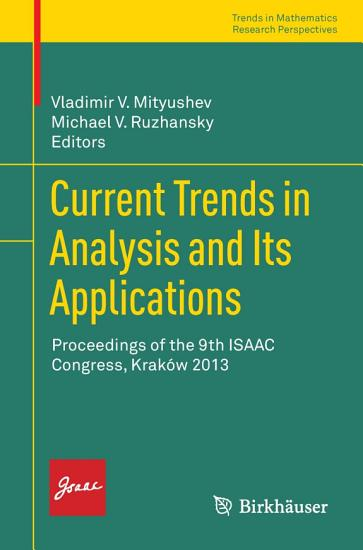 Current Trends in Analysis and Its Applications PDF