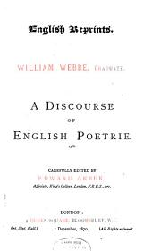 A Discourse of English Poetrie: 1586