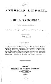 An Account of Lord Bacon's Novum Organon Scientiarum, Or New Method of Studying the Sciences: The First Or Introductory Part