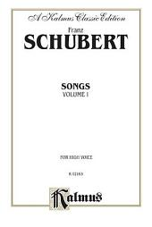 Songs, Volume I: Vocal Collection